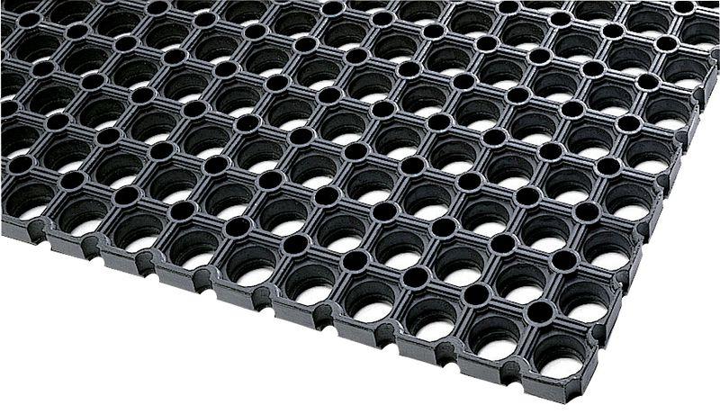 Standaard rubber ringmat voor binnen- en buitengebruik