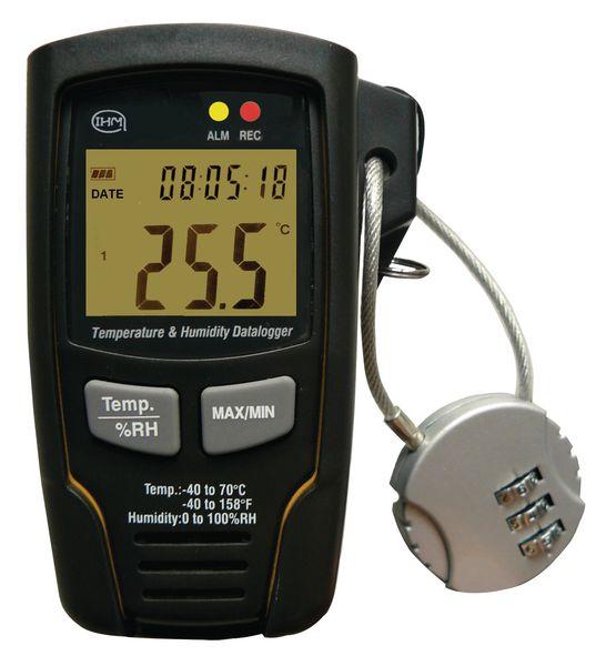 Digitale temperatuur- en vochtigheidsrecorder
