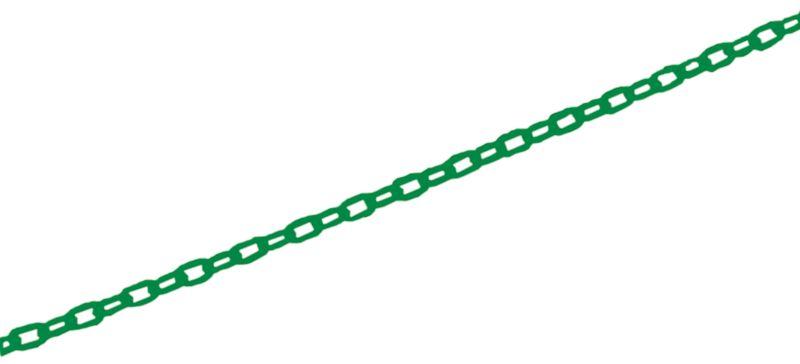 Extra lange signalisatiekettingen van polyethyleen