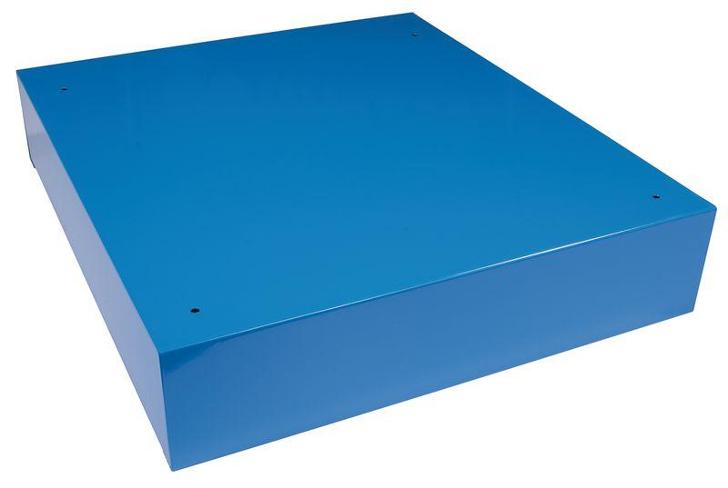 Basis voor vierkante lockers van staalplaat