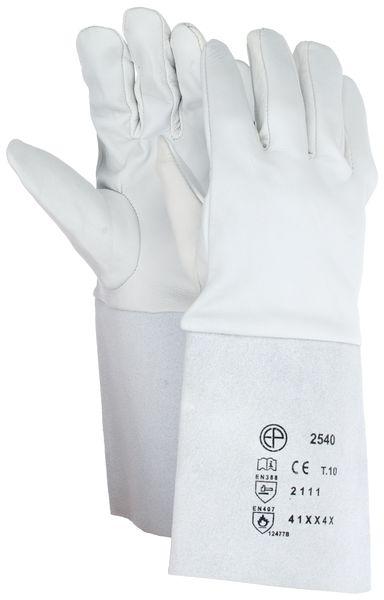 Warmtebestendige, leren handschoenen Eurotechnique®