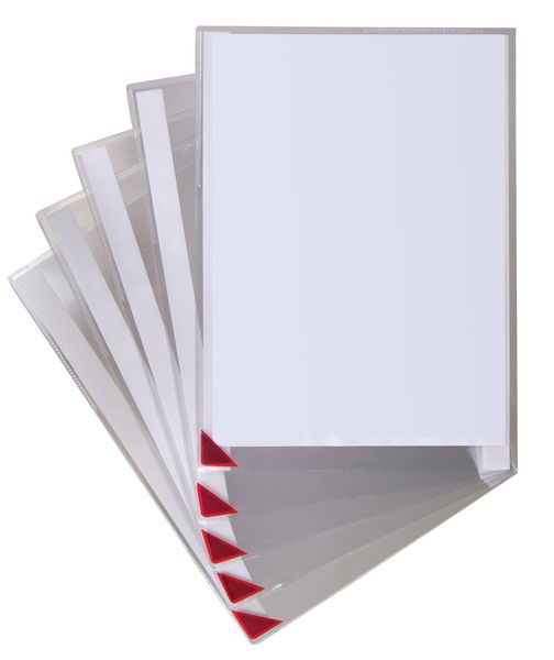 Zelfklevende affichehouders met magnetische sluiting