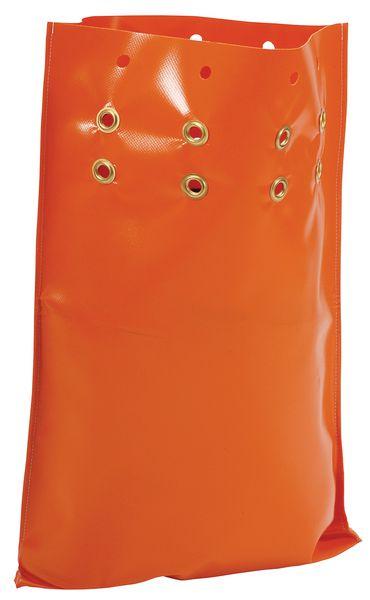 Oranje ballastzak voor tijdelijke wegsignalering