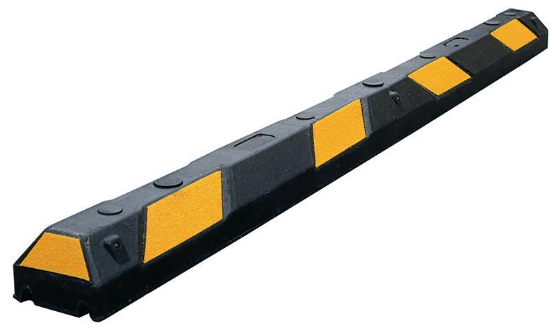 Flexibele parkeerstops voor oneffen oppervlakken