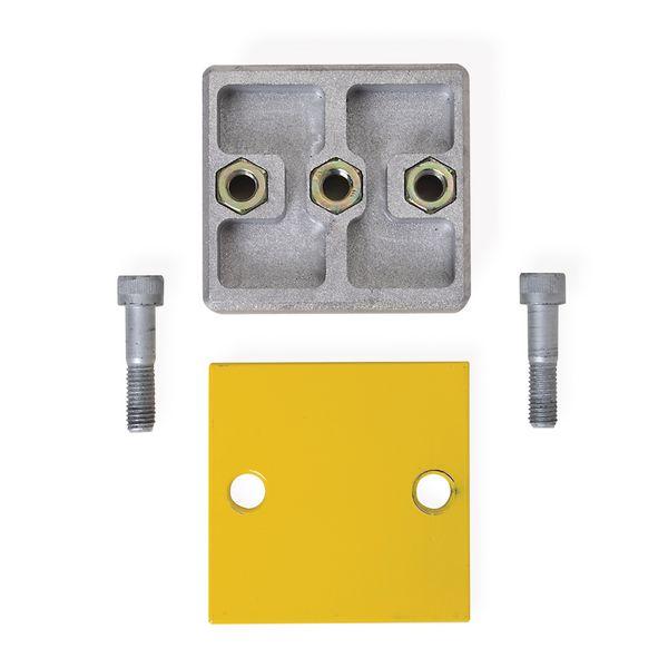 Kit verbindingsstuk voor modulaire beschermingsrails
