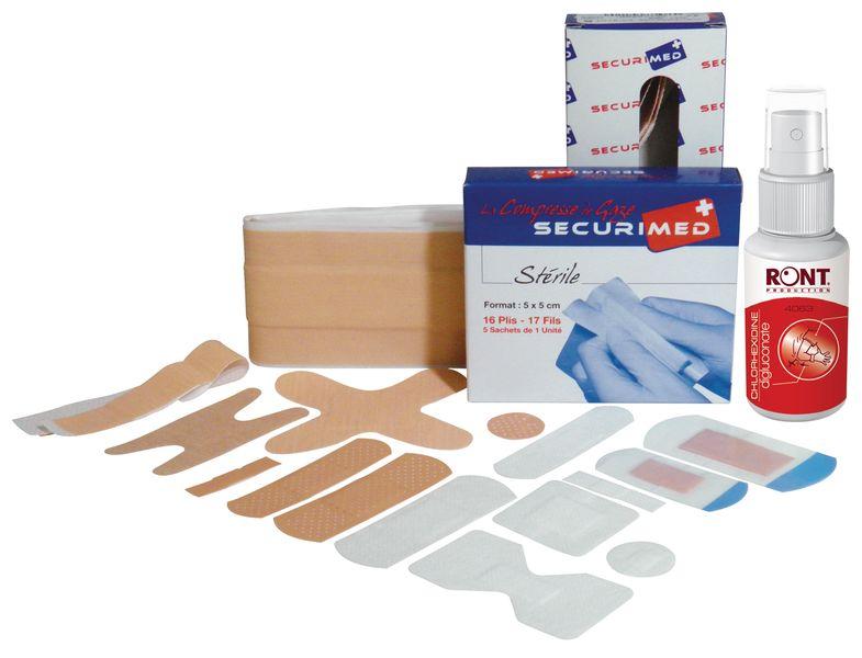 EHBO-kit voor kleine verwondingen