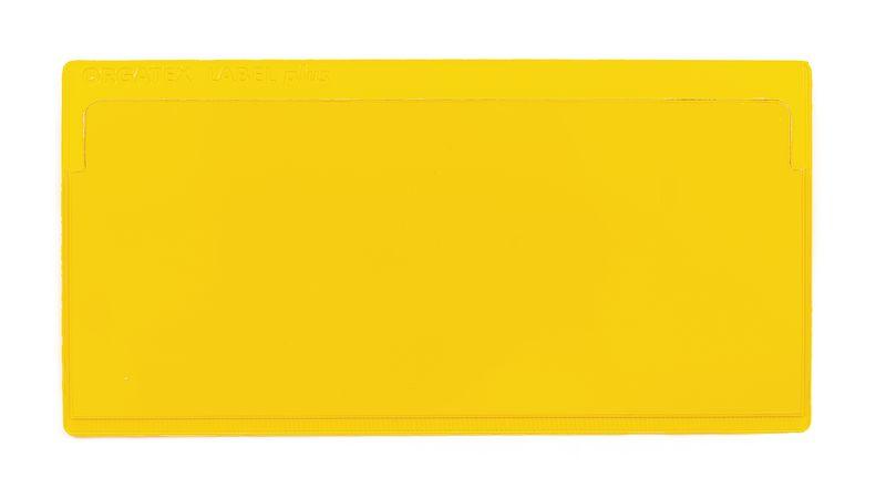Grote etikethouders met kleefband of magnetische strip