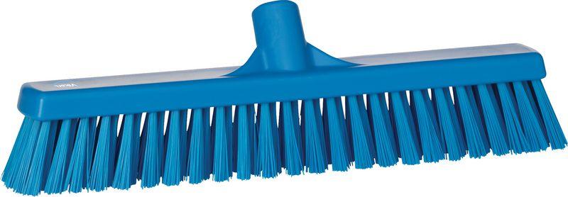 Vikan veegborstel met harde en soepele haren voor cleaning station (enkel bezemkop)