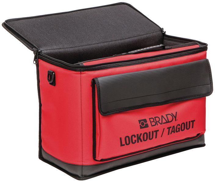 Stevige opbertas met handvat voor lockout (leeg)