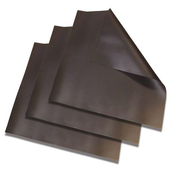 Pakket met 3 soepele afdichtmatten van neopreen