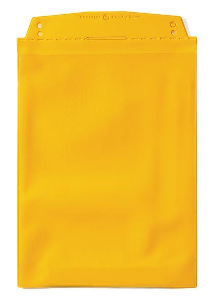 Gekleurde beschermmap met 2 magnetische strips