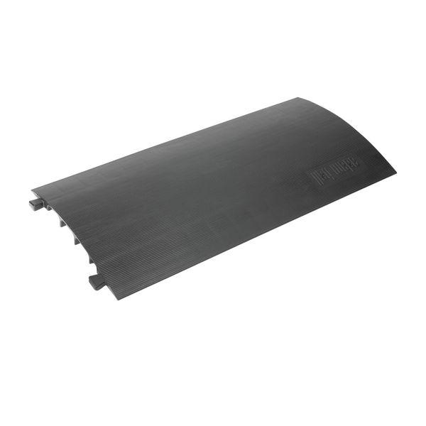Zwarte kabelbrug Defender® Compact met drop-over systeem