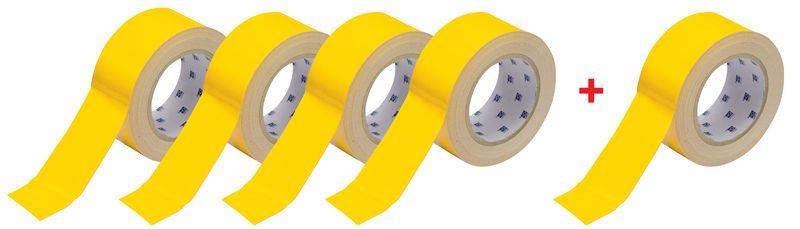 Promopack 4 + 1 rollen Toughstripe™ vloertape