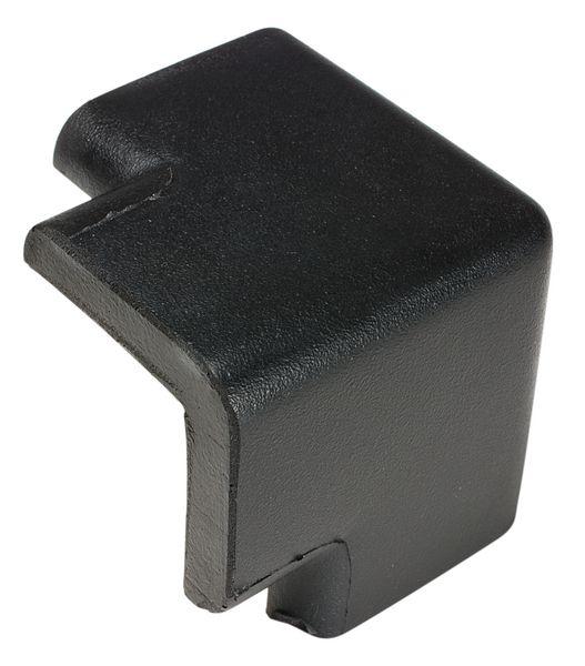 Hoekbeschermer van polyurethaanschuim, zwart en geel