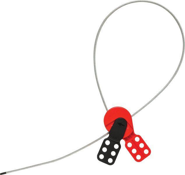Universeel 2-in-1 vergrendelingssysteem met stalen kabel