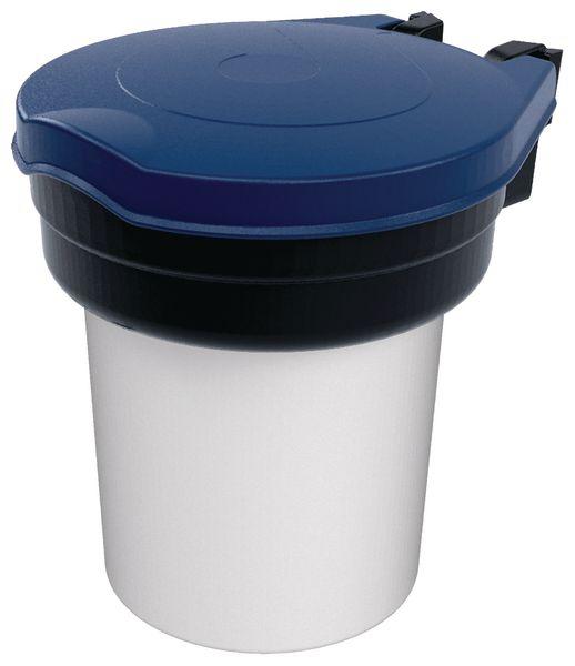 Skipper™ dispenser voor PBM met gekleurd deksel