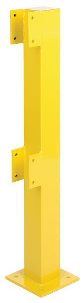 Modulaire, stalen veiligheidsrailing voor binnengebruik
