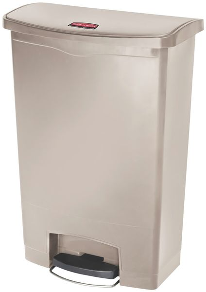 Pedaalemmers Slim Jim® Rubbermaid van polyethyleen