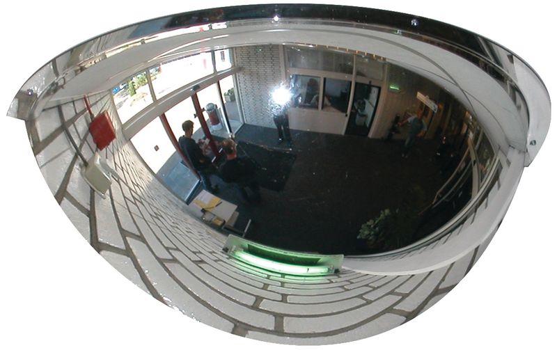 Observatiespiegel, 1/2 bol, 180° zicht