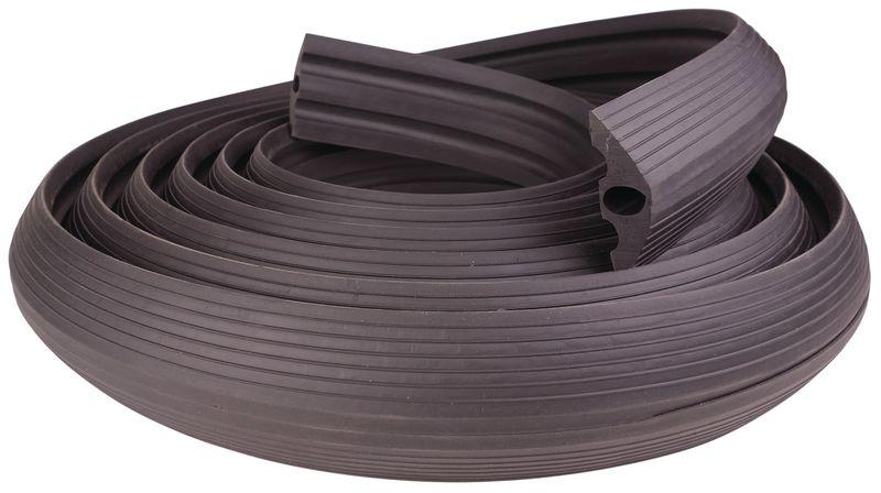 Rubberen kabelbescherming op rol
