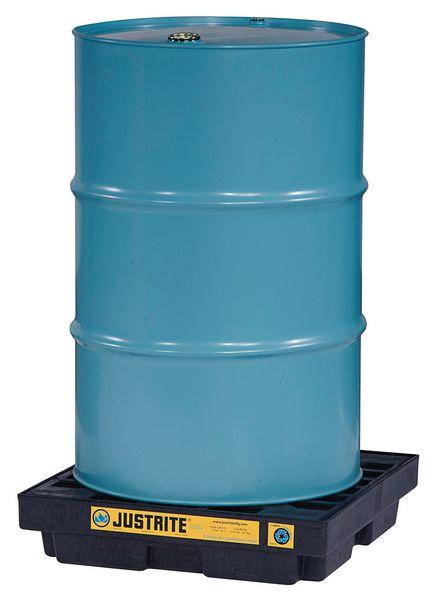 Ondiepe lekbak van gerecycleerd polyethyleen