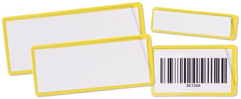 Zelfklevende of magnetische etikethouders