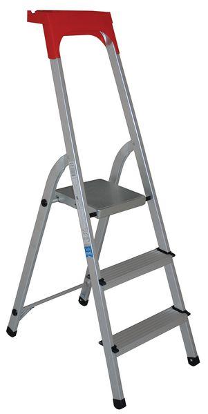 Professionele trapladder van aluminium