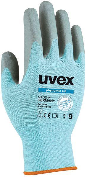 Snijbestendige handschoenen voedingsindustrie Uvex Phynomic C3