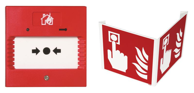 Kit handbrandmelder type 4 met 3D-signalering