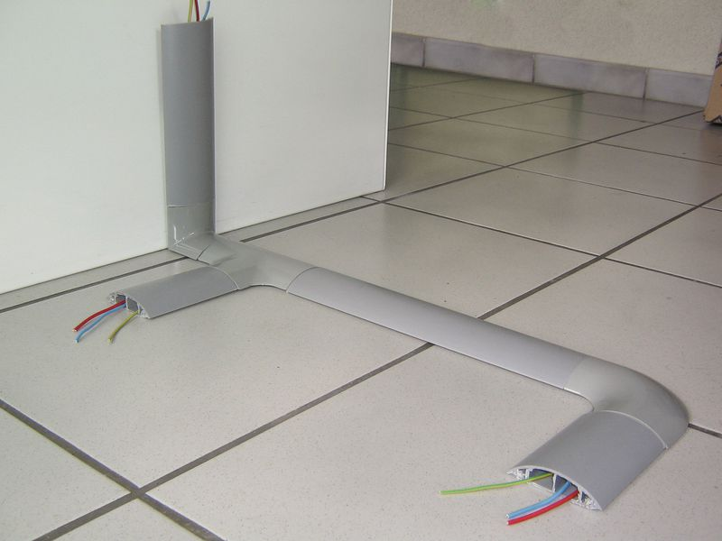 Accessoires voor harde kabelbrug met afneembare bovenkant