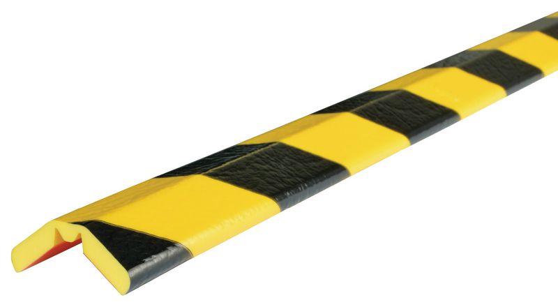 Flexibele stootrand met w-vormig scharnier voor randen Optichoc