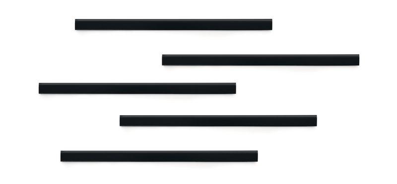 Klevende rail voor magnetische bevestiging van documenten (aan muur / raam / ...)