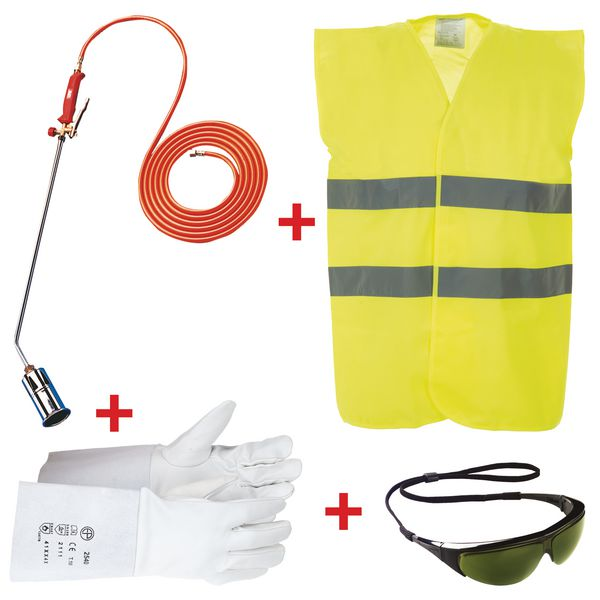 Economische kit voor thermoplastische vloermarkering