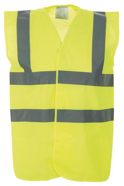 Fluorescerende veiligheidshesjes met reflecterend bretellen en riem