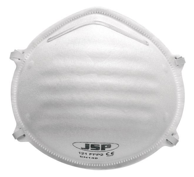 Wegwerp FFP2-stofmasker JSP® Olympus® Moulded, standaardformaat