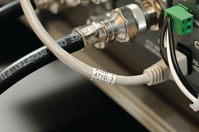 Kabelmarkeringen - voor labelprinter BMP71