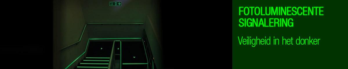 Fotoluminescente signalering |