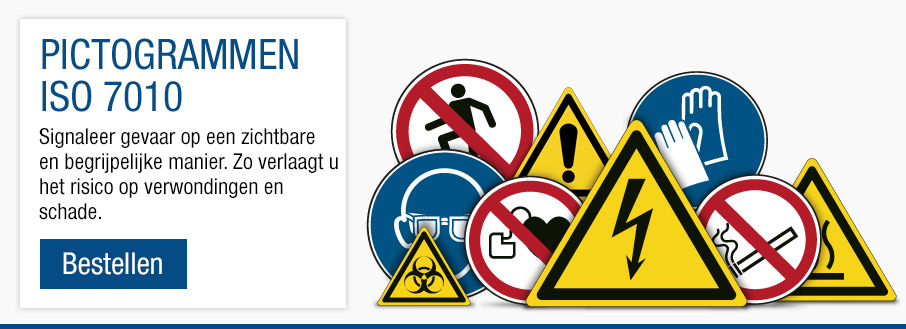Borden en pictogrammen ISO 7010