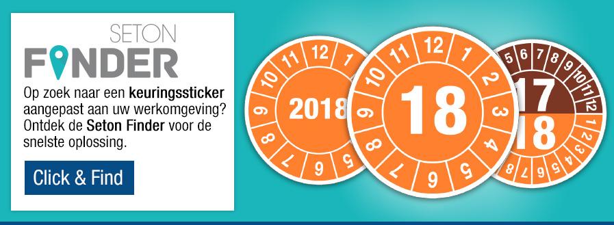 Click & Find de keuringssticker voor uw werkomgeving