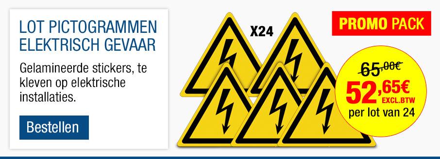 Set stickers ISO 7010