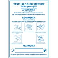 Veiligheidsposters Eerste hulp bij elektrocutie