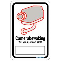 Borden camerabewaking Koninklijk Besluit
