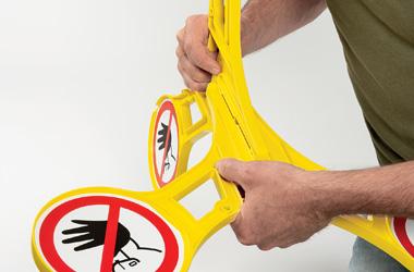 Stap 3 installatie roterend signaleringsbord