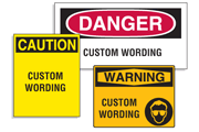 Custom Workplace Safety Signs