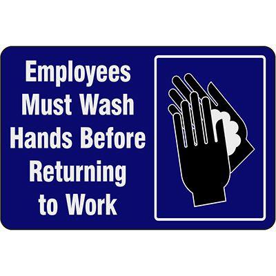 Hygiene & Handwashing Signs