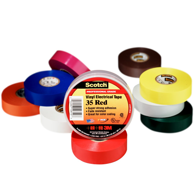 3M® Colour Coding Electrical Tapes - Scotch™ 35