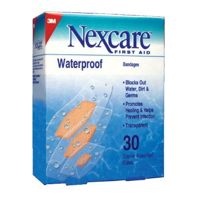 3m Nexcare Waterproof Bandages (Sterile)