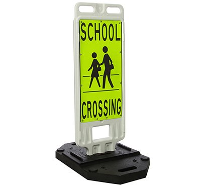 TrafFix Devices School Crossing Crosswalk Safety Signs