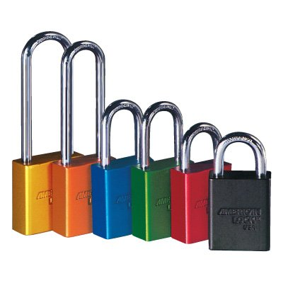 American Lock® Aluminum Padlocks - Master-Keyed