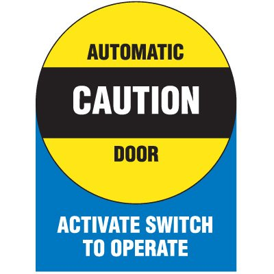 Automatic Door Signs - Automatic Door